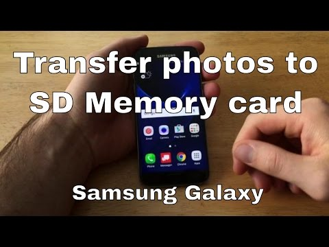 Samsung Galaxy S7 - Transfer pictures to SD memory card