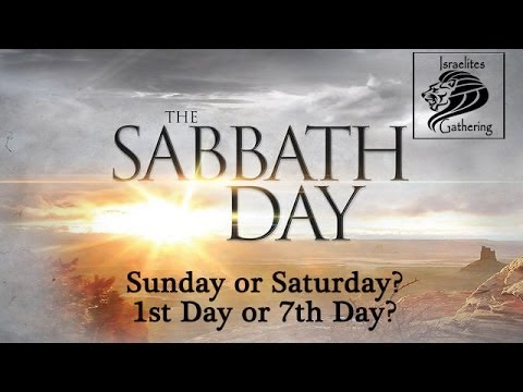 What Day is the Sabbath Day? Sunday or Saturday? Does it Matter?