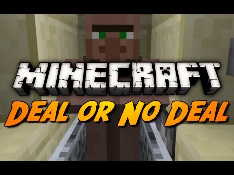 Minecraft: Villager Deal or No Deal in 1.3!