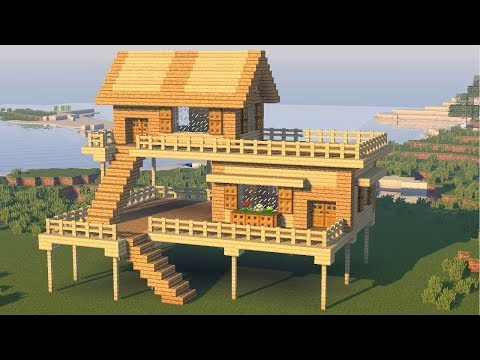Minecraft: How to Build the Best Starter / Survival House - Tutorial (Easy)