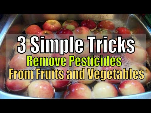 Simple Tricks to Remove Pesticides From Fruits and Vegetables