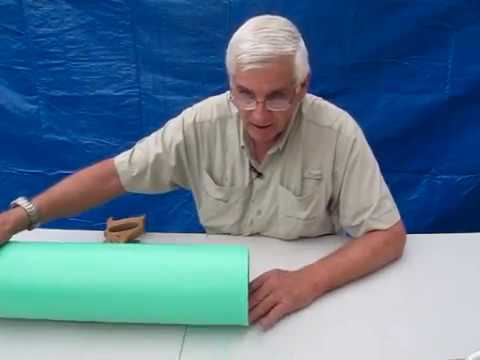 Cutting Square Ends on 6 Inch PVC Pipe