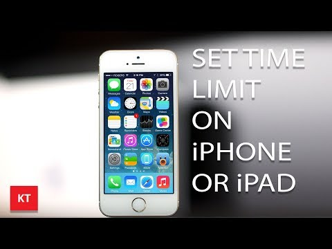 How to use guided access to set time limit on iPhone or iPad