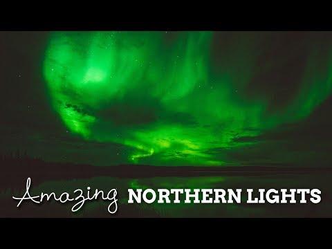 Amazing Northern Lights   Yellowknife, Canada