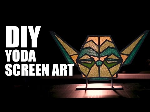 Yoda Screen Art | Star Wars Special