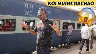 Sitting On A Random Train Challenge - Blind Fold