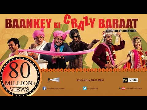 Baankey ki Crazy Baraat | Full HINDI MOVIE HD | Raajpal Yadav,  Vijay Raaz | New Bollywood Movies