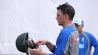 Handscomb talks Tests, tour match ... and tennis