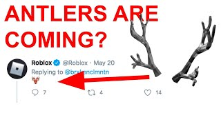 ROBLOX HINTS AT ANTLERS COMING? ROBLOX MEMORIAL DAY SALE 2020