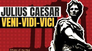 VENI  VIDI  VICI ⟰ Unforgettable Julius Caesar Quotes ❞