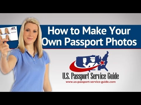 How to Make Your Own Passport Photos