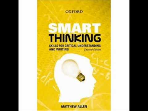 smart thinking skills for critical understanding and writing download