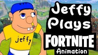 SML Movie: Jeffy Plays Fortnite! Animation