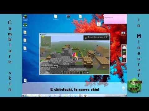 Come cambiare skin in Minecraft Sp (visibile anche in multiplayer!)