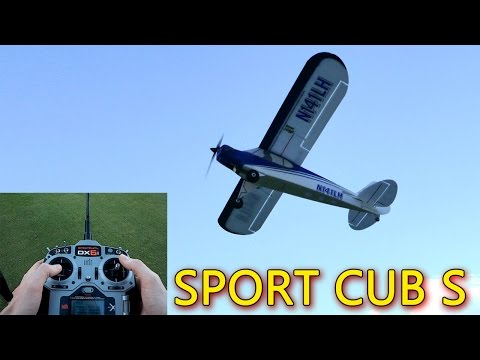 Sport Cub S EASY TO FLY RC Plane