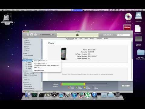 How to Initiate an iPhone (or any iDevice) Backup in iTunes with Mac OS X.mov