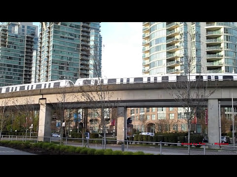The Skytrain of Vancouver
