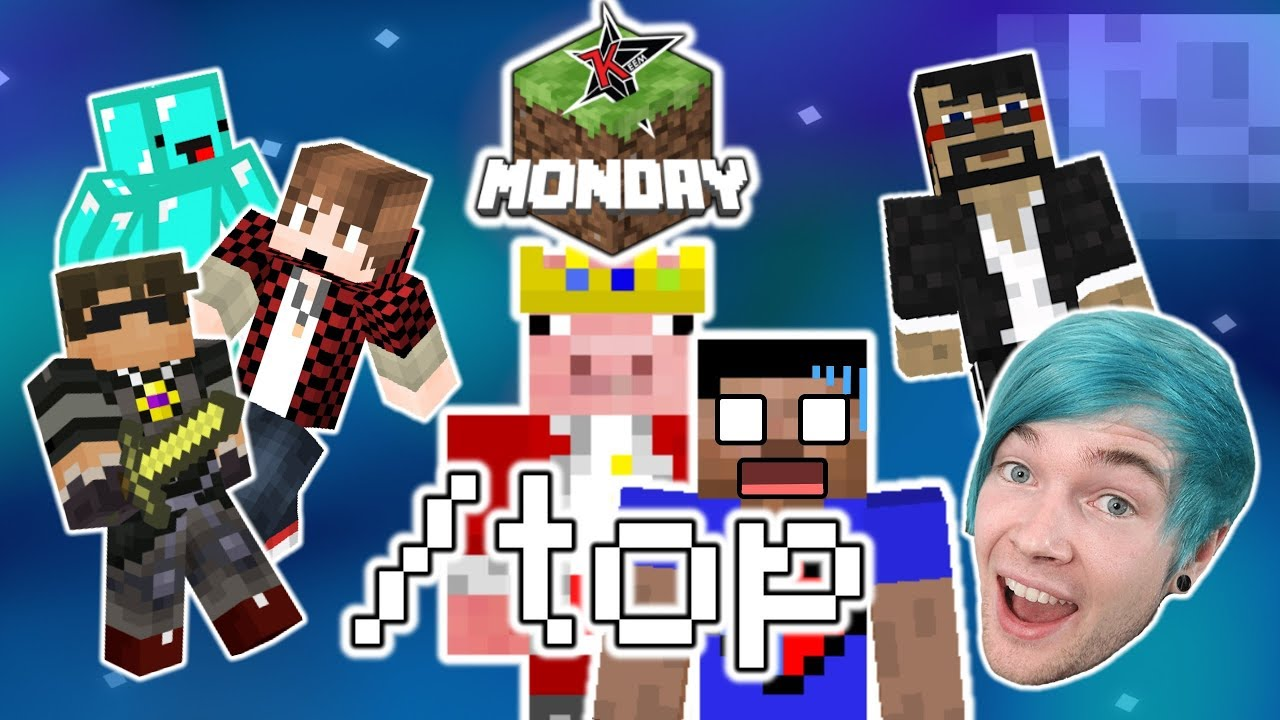 YouTubers React to Technoblade's /top Sneak Attack on Vikkstar in Minecraft Monday Week 3