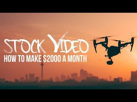 Stock VIDEO isn't DEAD! Make $2000/month