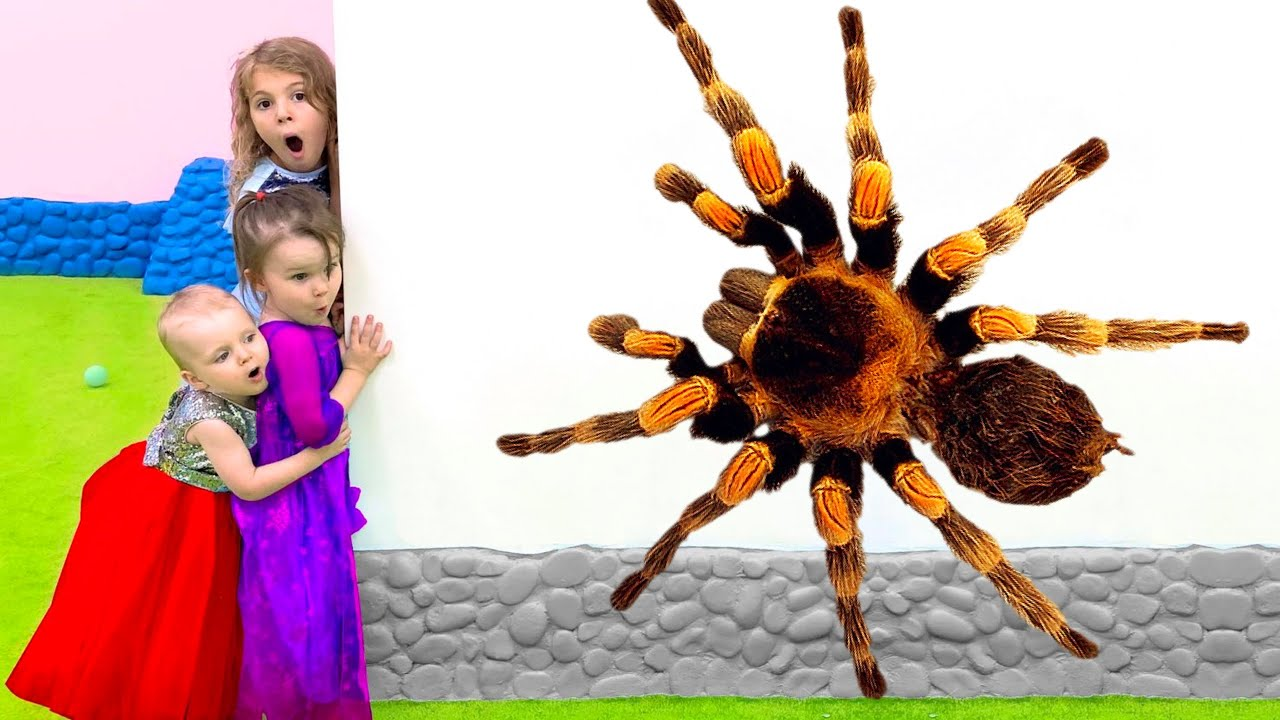 Five Kids Magic Animals Song + more Children's Songs and Videos