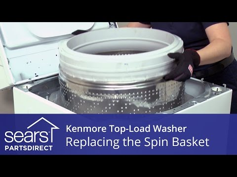 How to Replace the Spin Basket on a Kenmore Vertical Modular Washer (VMW)
