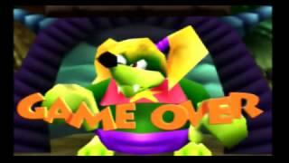 Banjo-Kazooie (N64): Game Over Cutscene