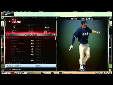 MLB 15 The Show Roster UPDATE 4/20/2015 Chicago Cubs Kris Bryant