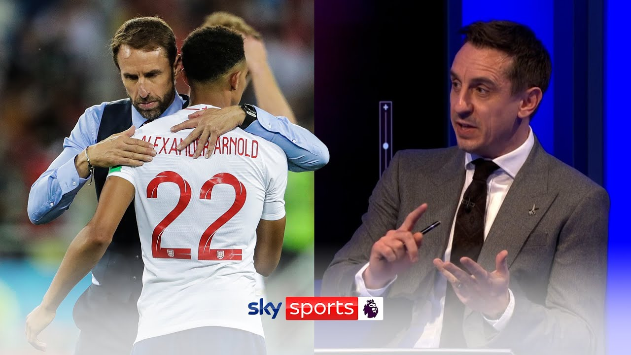 Why Neville believes Southgate WON'T pick Alexander-Arnold in his Euro 2020 squad