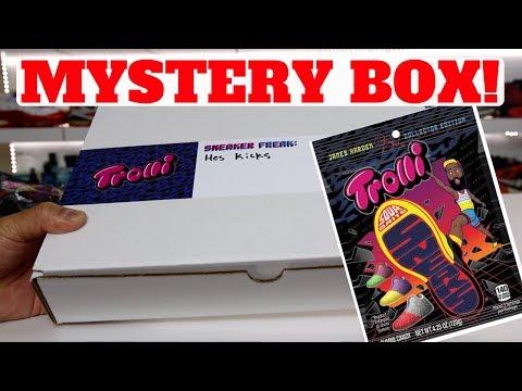 Trolli x Harden SNEAKER MYSTERY UNBOXING!?!