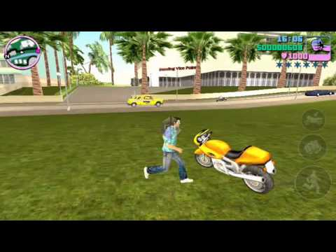 Increase GTA VC Health And Money in Android