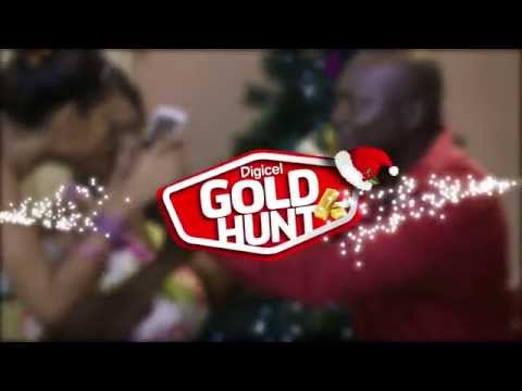 Digicel Hunt For Gold - Christmas Campaign 2014