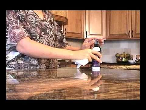 DIY HOW TO SEAL GRANITE COUNTERTOPS, Sealing Granite Countertops Made Easy