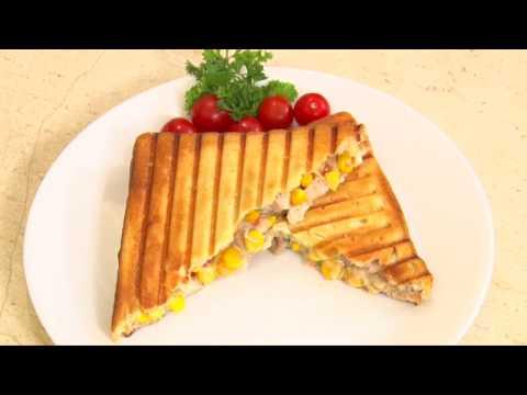 Chicken Corn Sandwich - Vaishalee's Tips & Treats - Supa Corn