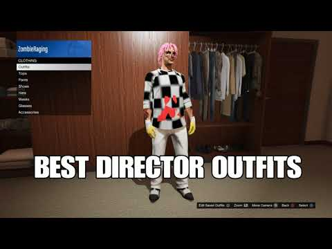 Best Director Mode Outfits Component Swap 2017 1.40 Juggernaut Outfit/Spaceman