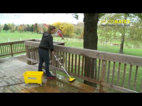 How to Clean and Stain a Deck - Mr. LongArm Woodmates®