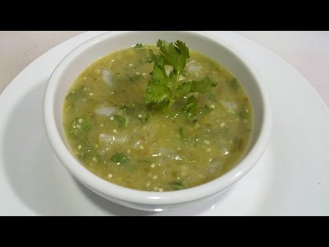 como hacer salsa verde, taquera, Receta #104, como hacer salsa verde