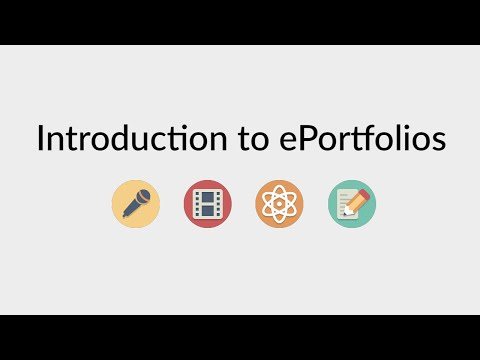 ePortfolios in Wordpress: Introduction to ePortfolios