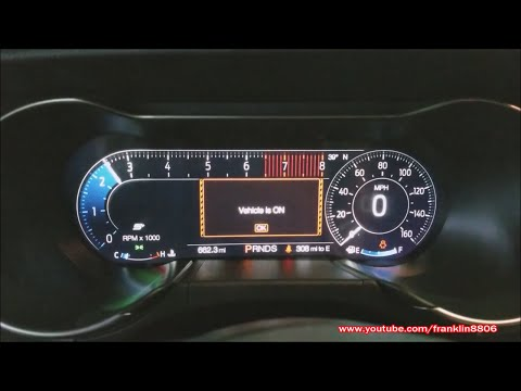 2018 Ford Mustang Cold Start,12-in Digital Display Demo,& Exhaust Clip