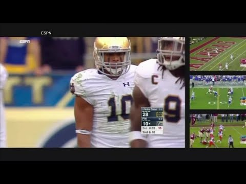 ESPN releases split screen feature for Apple TV