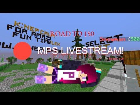 🔴 Live! // Mineplex MPS fun // Road to 150