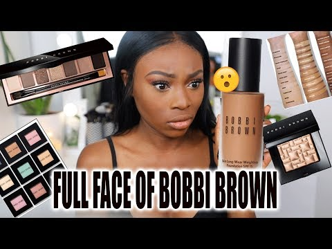 SO.... I TRIED A FULL FACE OF BOBBI BROWN