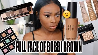 I WAS TIRED OF THE BEAUTY DRAMA & TRASH BRAND... SO I TRIED A FULL FACE OF BOBBI BROWN