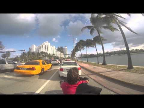 Road to Miami from Orlando *HD*