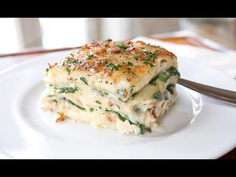Chicken lasagna recipe easy
