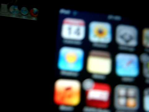 How to move Apps on the Ipod Touch and I Phone
