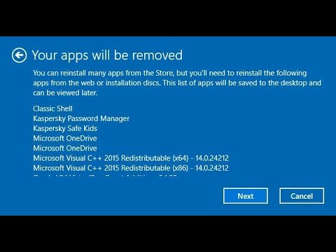 Reinstall Windows While Keeping Your Files Intact with Windows Fresh Start