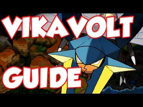 How To Use Vikavolt! Pokemon Sun and Moon Vikavolt Moveset and Vikavolt Guide