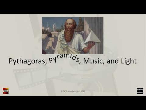 Pythagoras, Pyramids, Music, & Light: Part 1