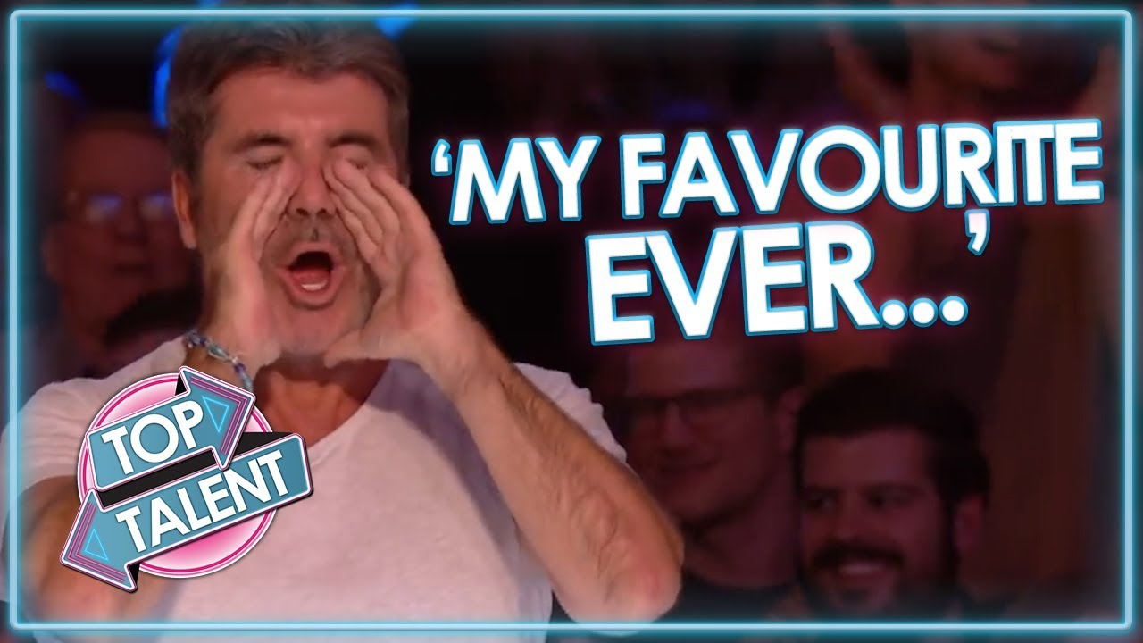 Simon Cowell's FAVOURITE EVER UK Auditions! Got Talent and X Factor   Top Talent