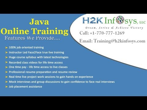 Overview of Reflection API in Java   Uses of Reflection   java Training Videos
